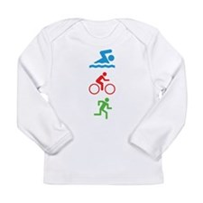 Triathlete Long Sleeve Infant T-Shirt