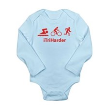 iTriHarder Long Sleeve Infant Bodysuit