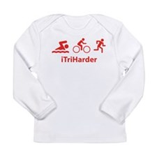 iTriHarder Long Sleeve Infant T-Shirt