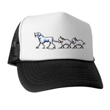 Akbash Dog n Sheep Trucker Hat