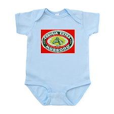 Brazil Beer Label 2 Infant Bodysuit