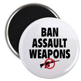 "BAN ASSAULT WEAPONS 2.25"" Magnet (10 pack)"