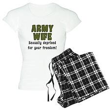 Army Wife - deprived pajamas