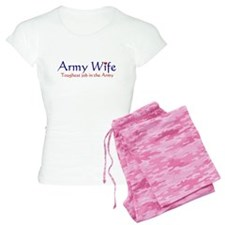army wife-toughest.png Pajamas