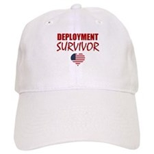 deployment survivor.png Baseball Cap