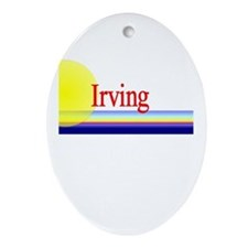 Irving Oval Ornament