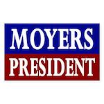 Moyers for President '08 (bumper sticker)