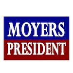 Moyers for President (8 Postcards)