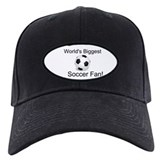 World's Biggest Soccer FanBaseball Hat