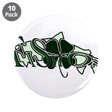 "Fish On! 3 3.5"" Button (10 pack)"