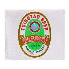 China Beer Label 1 Throw Blanket