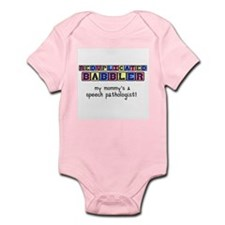 Unique Speech language pathologist Infant Bodysuit
