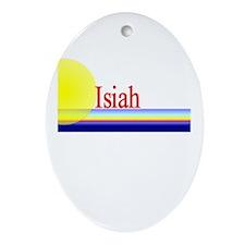 Isiah Oval Ornament