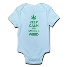 Keep calm and smoke weed Onesie