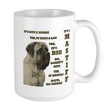 Mastiff Large Mug (15 oz)