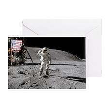 RightPix Moon F2 Greeting Card