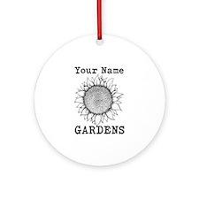 Custom Garden Ornament (Round)