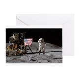 RightPix NASA F1 Greeting Card