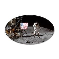 RightPix Moon F1 22x14 Oval Wall Peel