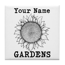 Custom Garden Tile Coaster