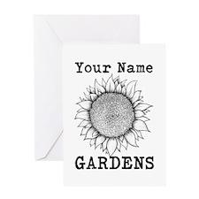 Custom Garden Greeting Card