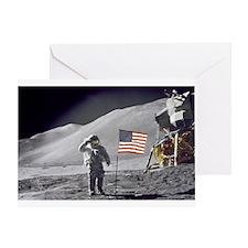 RightPix Moon E1 Greeting Card