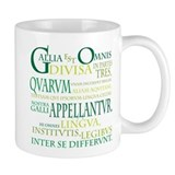 Gallia in tres partes Small Mug (11 oz)