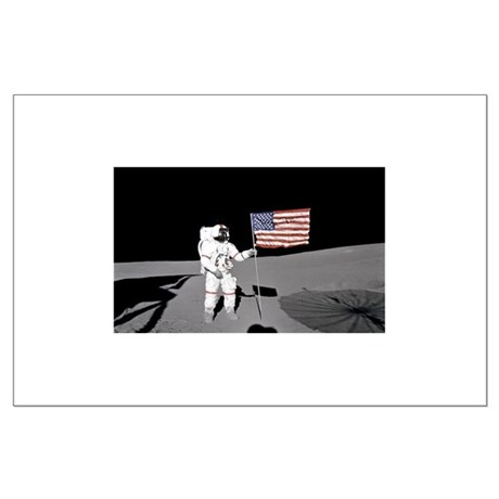 RightPix Moon D1 Large Poster