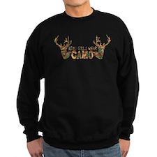 REAL GIRLS WEAR CAMO Sweatshirt