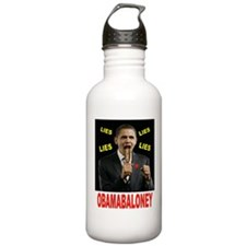 OBAMA BALONEY Water Bottle