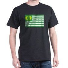 Ecology Flag Black T-Shirt