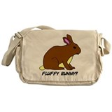 Fluffy Bunny? Messenger Bag