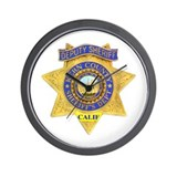 Kern County Sheriff Wall Clock