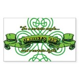 O'Malley's Bar Decal