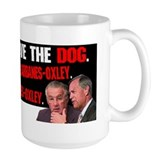 "Classic ""Obey the Dog"" SOX Mug (Sarbanes/Oxley)"