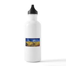 Van Gogh Wheatfield with Crows Water Bottle