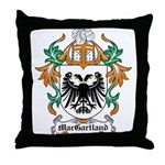 MacGartland Coat of Arms Throw Pillow