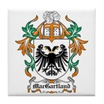 MacGartland Coat of Arms Tile Coaster