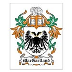 MacGartland Coat of Arms Small Poster