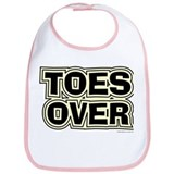 Toes Over Bib