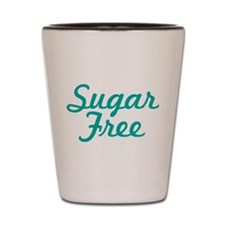 Sugar Free Text Shot Glass