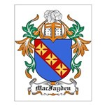 MacFayden Coat of Arms Small Poster