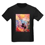 Odilon Redon Muse On Pegasus Kids Dark T-Shirt