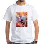 Odilon Redon Muse On Pegasus White T-Shirt