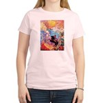Odilon Redon Muse On Pegasus Women's Light T-Shirt