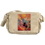 Odilon Redon Muse On Pegasus Messenger Bag