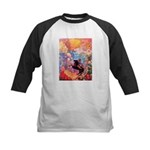 Odilon Redon Muse On Pegasus Kids Baseball Jersey