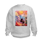 Odilon Redon Muse On Pegasus Kids Sweatshirt