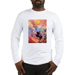 Odilon Redon Muse On Pegasus Long Sleeve T-Shirt