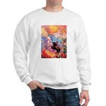 Odilon Redon Muse On Pegasus Sweatshirt